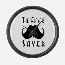The Flavor Saver Large Wall Clock