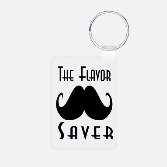 The Flavor Saver Aluminum Photo Keychain