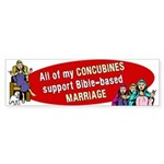 All My Concubines Sticker (Bumper 50 pk)