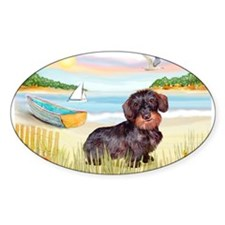 Rowboat / Wire Haired Dacahsh Decal