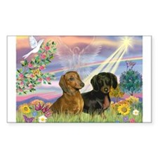 Cloud Angel Doxies Decal