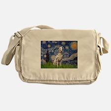 Starry Night & Dalmatian Messenger Bag