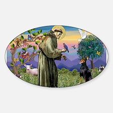 St. Francis Dobie Decal