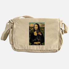 Mona Lisa's Dobie Messenger Bag