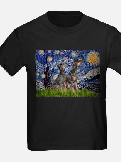 Starry Night & Dobie Pair T