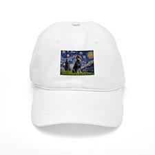 Starry Night Dobie Baseball Cap