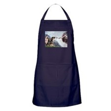 Creation & Dobie Pair Apron (dark)
