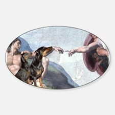 Creation & Dobie Pair Decal