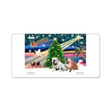 Xmas Magic & EBD Aluminum License Plate