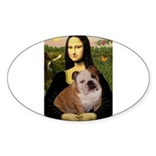 Mona's English Bulldog Decal