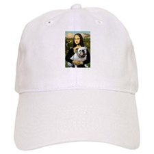 Mona & English Bulldog Baseball Cap