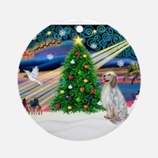 XmasMagic/English Setter Ornament (Round)
