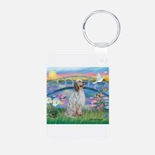 Lilies / English Setter Keychains