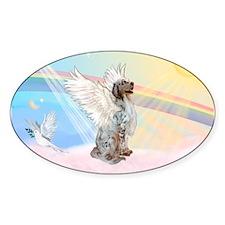 Angel / English Setter Decal