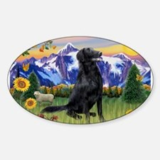 FCR in Mountain Country Sticker (Oval)