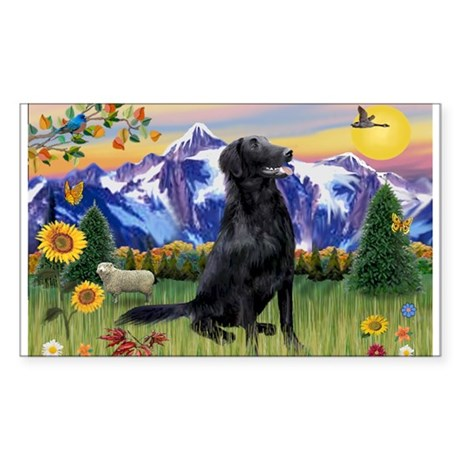 FCR in Mountain Country Sticker (Rectangle)