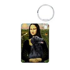 Mona Lisa & Her FCR Keychains