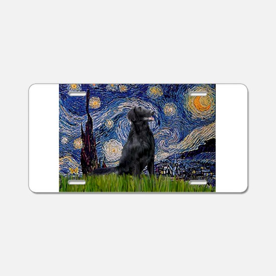 Starry Night FCR Aluminum License Plate