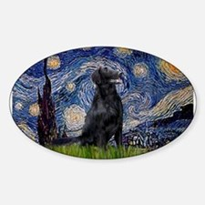 Starry Night FCR Sticker (Oval)