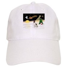 Night Flight/Eng Springer Baseball Cap