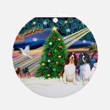 Xmas Magic & Eng Spring 1LW,1 Ornament (Round)