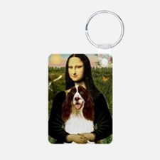 Mona Lisa & Her Springer Keychains