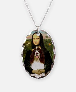 Mona Lisa & Her Springer Necklace
