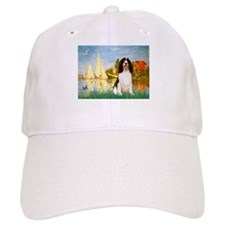 Sailboats & Springer Baseball Cap