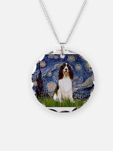 Starry Night & Springer Necklace