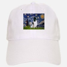Starry Night English Springer Baseball Baseball Cap