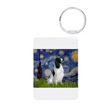 Starry Night English Springer Keychains