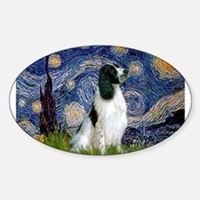 Starry Night English Springer Decal