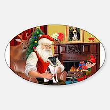 Santa's smooth Fox T Decal