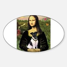 Mona and Fox Terrier Decal