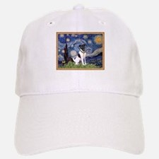 Starry Night Fox Terrier (#1) Baseball Baseball Cap