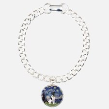Starry Night Fox Terrier (#1) Bracelet