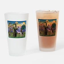 Saint Francis & G-Shepherd #3 Drinking Glass