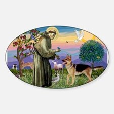 St Francis / G Shep Decal