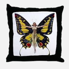 Queen of the Fairies Throw Pillow