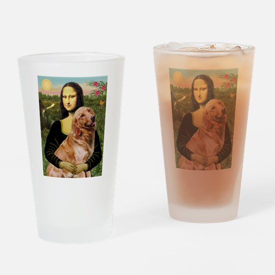 Mona's Golden Drinking Glass