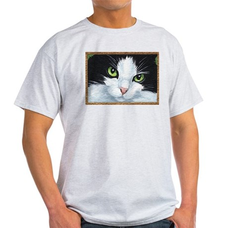 Kitty Eyes Ash Grey T-Shirt