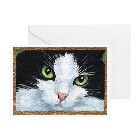 Kitty Eyes Greeting Cards (Pk of 10)