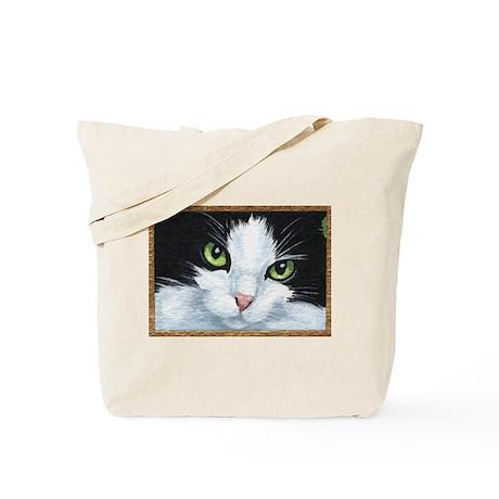 Kitty Eyes Tote Bag