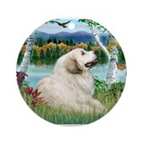 Dog great pyrenees Ornaments