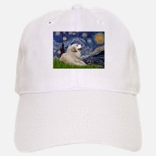 Starry Night Great Pyrenees Baseball Baseball Cap