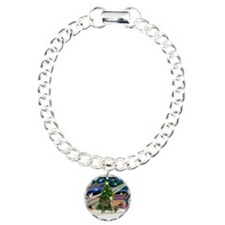 XmasMagic/2Greyhounds Bracelet