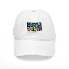 XmasMagic/Greyhound (rd) Baseball Cap