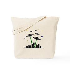UFO Attack Tote Bag