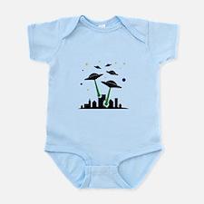 UFO Attack Infant Bodysuit
