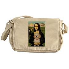 Mona's Havanese Puppy Messenger Bag